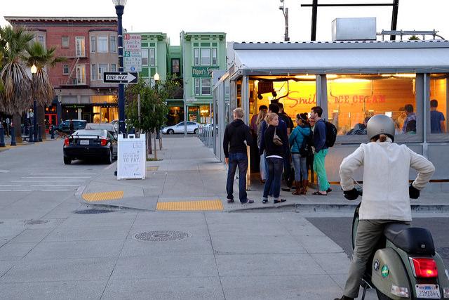 Innovative Smitten Ice Cream Store in Hayes