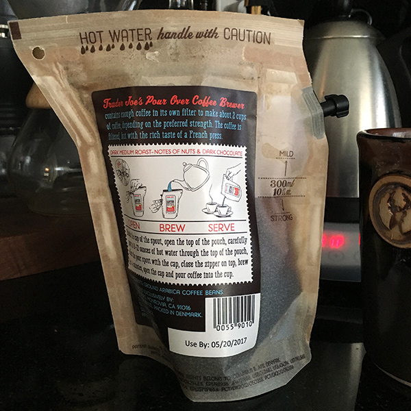 Trader Joes Coffee Innovative Bag